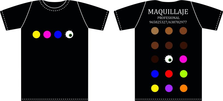 camisetasmaquilladoraAlbertina